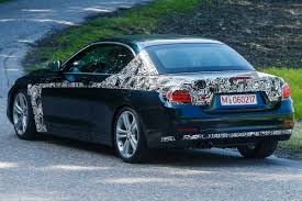 BMW 4 Series Convertible spy pictures | BMW 4 Series Convertible ...