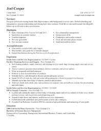 Sales Resume Objective Resume In Sales Sales Manager Resume