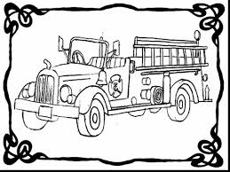beautiful truck fire engine coloring page with fire truck coloring ...