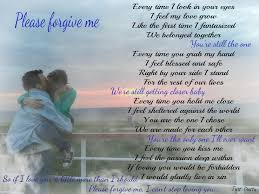 Forgive Me Poems Mesmerizing Love Forgiveness Romantic