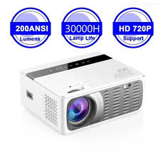 Full <b>HD 1080P</b> Mini Projector 8000LM LCD Projector For Home ...