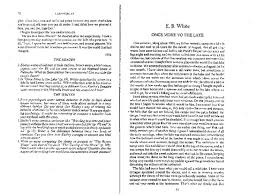 once more to the lake essay e b white