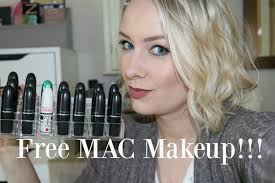 how to get free makeup back to mac
