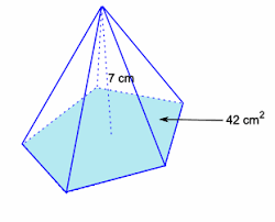 Diagram Of A Pyramid The Diagram Shows A Pyramid Whose Base Is A Regular Pentagon