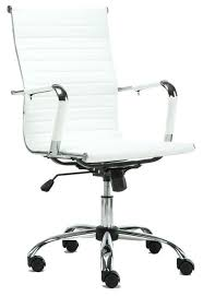 contemporary leather high office chair black. White Office Leather Chair Premium High Back Ribbed Swivel Adjustable Executive Contemporary Black
