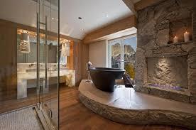15 Luxury Bathrooms with fireplace luxury bathrooms 15 Luxury Bathrooms  with Fireplaces BATHROOM WITH FIREPLACE DESIGNRULZ