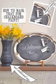 Design Style Tray Metal Tray Chalkboard Metal Trays Diy Diy Furniture