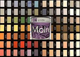 Diy Paint Color Chart Moire Wild Silk Acrylic Based Multiple Effect Decorative