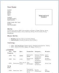 Acting Resume Beginner Acting Resume Sample Acting Resume E Program Facilitator 3 Es Acting