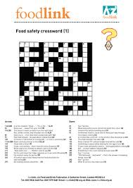 food safety puzzles by janharper   teaching resources   tesfood safety crossword  pdf