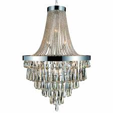 modern crystal large foyer round chandelier