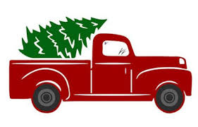Whatever you need christmas trucks for, here they are! Vintage Red Truck Free Svgs Project Ideas