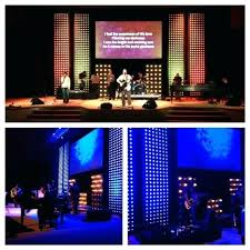 church led stage lighting packages crew design