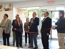 messner flooring ribbon cutting in greece ny