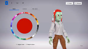 microsoft s new avatars will also be integrated into the xbox one dashboard right now we re only turning on the avatar editor itself but xbox dashboard