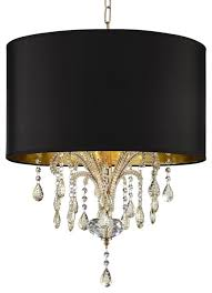 bellissimo ceiling lamp gold with black shade