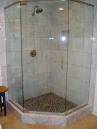 fascinating bathrooms look with custom corner shower ideas breathtaking decorating ideas using rectangular glass shower