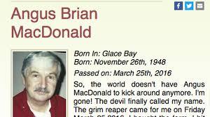 Canadian Man Writes His Own Hilarious Obituary New Hilarious