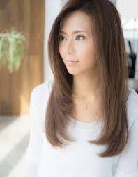 おろし前髪ロングレイヤーry 38 ヘアカタログ髪型ヘアスタイル