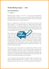 Graduate School Personal Statement Examples Template Accounting