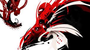 Black And Red Dragon Wallpaper Black ...