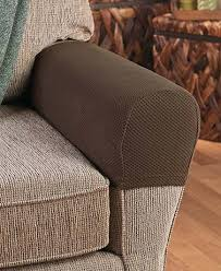 protect the arms of your sofa or chair with this set of 2 stretch armrest covers they stretch to fit diffe sizes and shapes of armrests