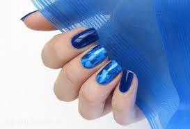 Manikúra Modrá Modré Nápady Na Manikúru