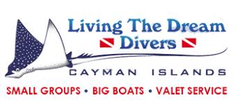 grand cayman living the dream. living the dream divers logo grand cayman