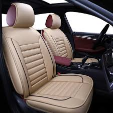 pu leather auto car seat covers for toyota corolla camry rav4 auris prius yalis suv car