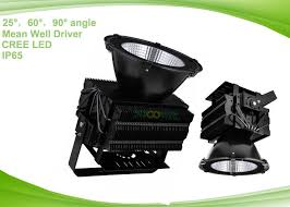 industrial outdoor led flood lights fixtures 500w led spot lights with narrow angle