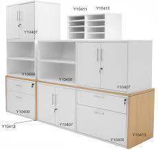 modern office credenza. modern office structures maple u0026 white modular storage credenza