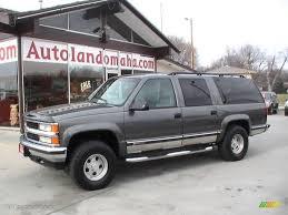 1999 Medium Charcoal Gray Metallic Chevrolet Suburban K1500 LT 4x4 ...