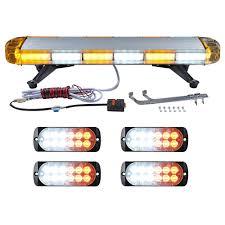 Strobe Light Bar Amazon Amazon Com 30 Inch Amber White Alternative Emergency