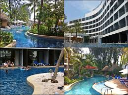 Cool off in the pool at the Hard Rock Hotel Penang