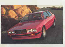 maserati biturbo fuel sending units 1984 1985 maserati biturbo large factory postcard mx8674