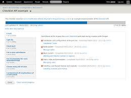 check list example checklist api drupal org