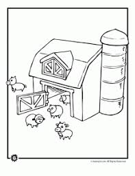 Small Picture Farm Coloring Pages Animals in the Barnyard Animal Jr