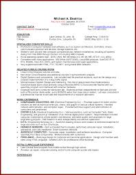 Interesting Resume Models For Part Time Jobs With Additional Resume