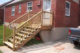 image of smart outdoor step handrail