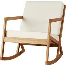 modern outdoor rocking chair. Vernon Rocking Chair With Cushions Modern Patio Rockers Gliders Allmodern Outdoor R