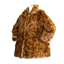 incredibly rare vintage fendi mink fur swing coat jacket reversible for
