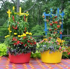 Garden Design Garden Design With Creative Container Gardening Container Garden Design Plans