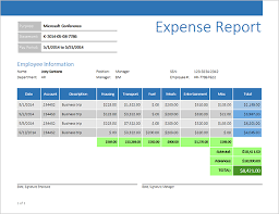 how to create expense reports in excel reporting expense report with business objects