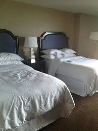 hotel double bed size. Contemporary Hotel Sheraton New Orleans Hotel Double Bed Full Size With Hotel Size