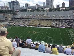 Bobby Dodd Stadium Section 203 Rateyourseats Com