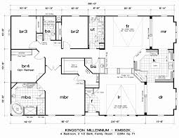 3 bedroom single wide mobile home floor plans new 60 new double wide mobile home floor