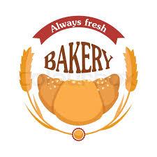 Always Fresh Bakery Croissant Icon Stock Vector Colourbox