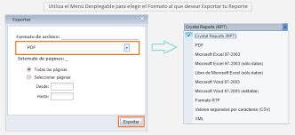 formato de informe en word exportar informes