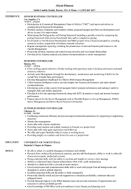 Business Resume Business Controller Resume Samples Velvet Jobs 3