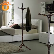 classic wood pearl swivel stand coat hanger coat rack hat hanger